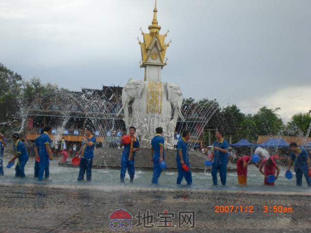 神秘国中国,傣族泼水节,体验迥异风情西双版纳 美图