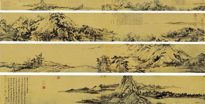 中国十大传世名画欣赏shida - 静水流深 - 静水流深