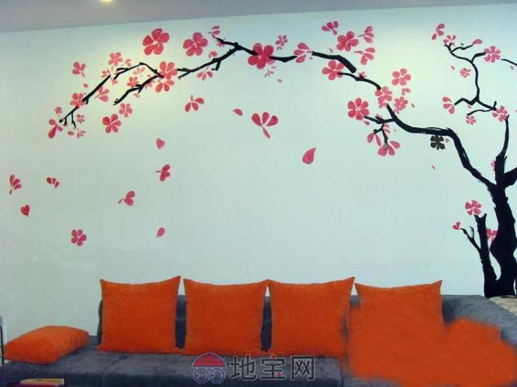 墙上贴的画-大连经典墙壁画公司沈阳分公司   韩国经典家居油画式墙壁装饰画   他